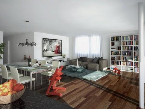 FLORA-PARK - 4.5 Zimmer-Wohnung 7.14