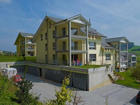 Idyllisch gelegene Parterre-Wohnung in Stadtnähe