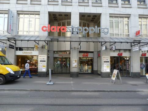 Ihre Verkaufsfläche im Erdgeschoss Clara Shopping