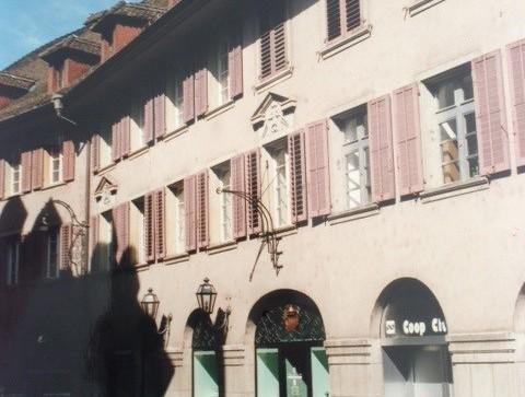 Liebhaber Objekt inmitten der Altstadt Olten