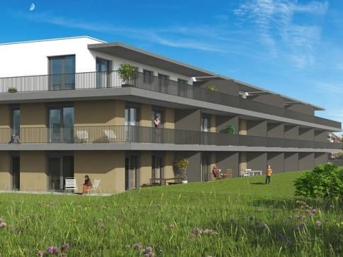 Luxuriöse Attikawohnungen mit riesiger Terrasse