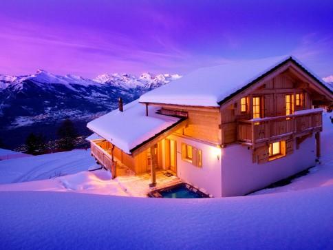 Magnifique chalet ski-in/ski-out à vendre - Résidence secondaire