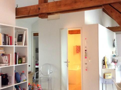 Magnifique petit appartement-loft à 2 pas du lac