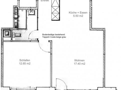 moderne 2.5 Zimmerwohnung in Interlaken