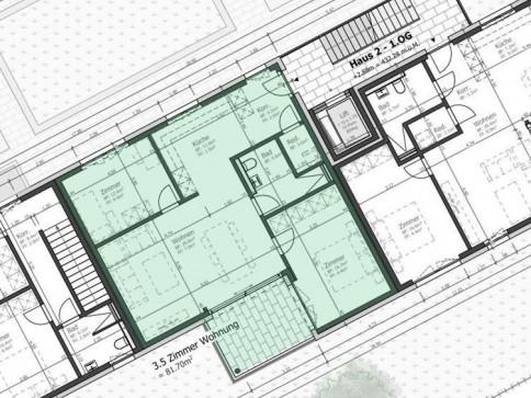 Moderne 3.5-Zimmer Wohnung 1.Obergeschoss