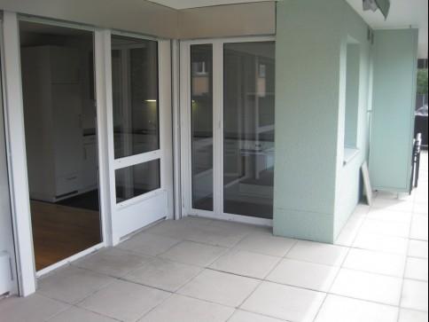 Moderne Wohnung neben der Gürbe