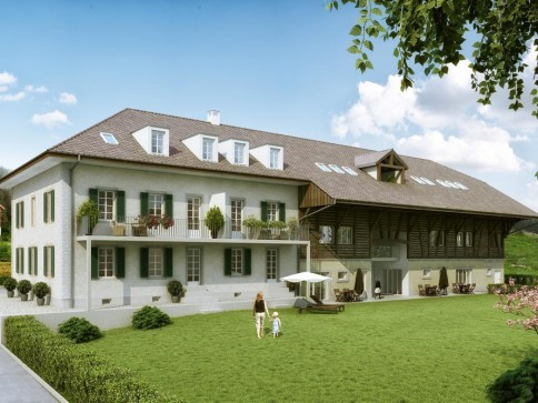 Moderne Wohnungen mit historischem Charme