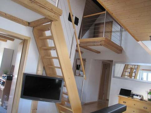 Nachmieter/in gesucht für charmante 3.5 Zimmer Dachwohnung mit Galerie