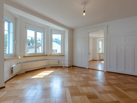 Neu & Alt vereint - Frisch renovierte Altbauwohnung!