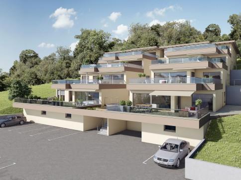 Neu, grosszügig, attraktiv, hochwertige 3.5 u. 4.5-Zi.-Terrassenhäuser