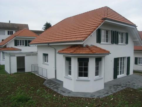 Neubau Einfamilienhaus im ländlichen Wolfwil