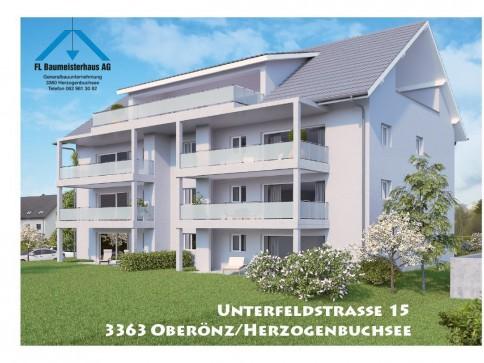 Neue 4 1/2 Wohnung 1. OG mit grossem Balkon