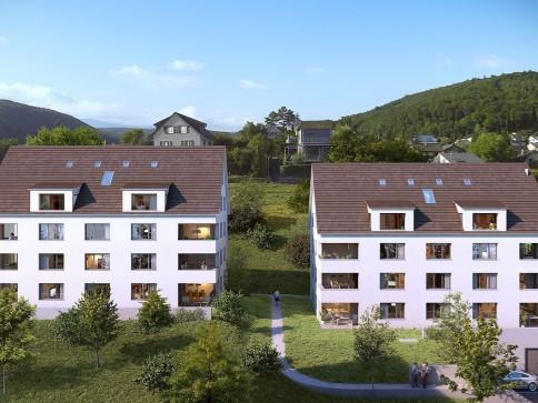 Neue Dachmaisonette-Wohnung mit grosszügigem Grundriss