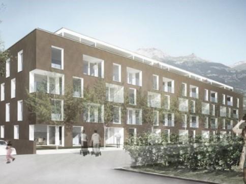 Nouveau à Sierre - appartement de 2.5 pces