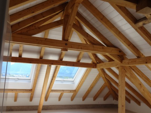 Originelle, schöne 2-Zimmer - Dachwohnung