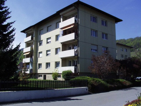 ruhige, helle 3 1/2-Zimmer-Wohnung in Au