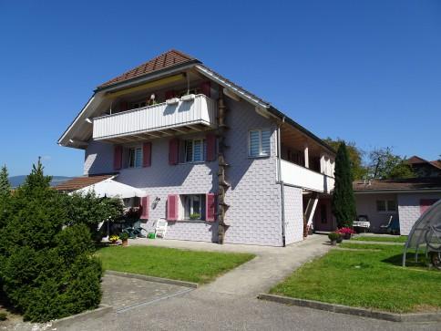 schöne 4 1/2-Zimmer Dachwohnung im Grünen...