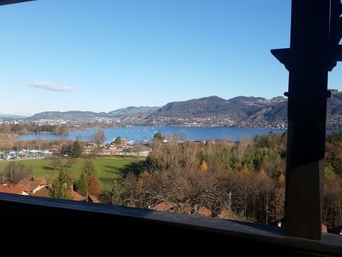 See- und Bergsicht renovierte 2.5 Zimmer-Wohnung und grosse Galerie