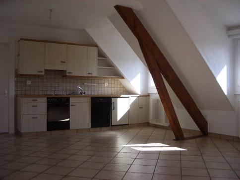 Sierre - appartement mansardé 3 1/2 pièces au centre ville