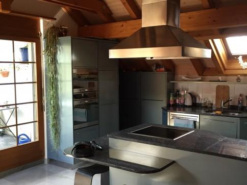 spezielle 3 1/5 Z.-Dachwohnung in Obermumpf