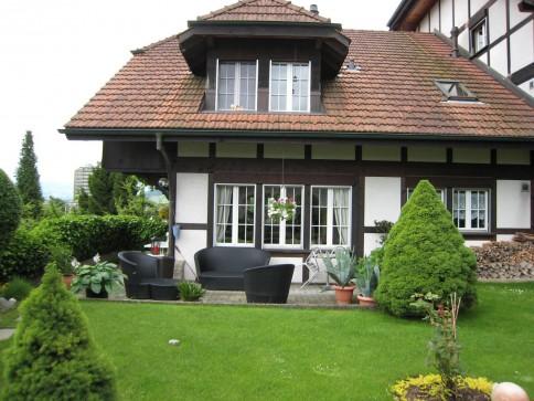 Stilvolles, sehr gepflegtes Einfamilienhaus im Riegbau