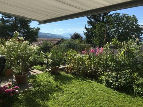 Wunderschönes Einfamilienhaus mit Garten und Blick auf Zugersee