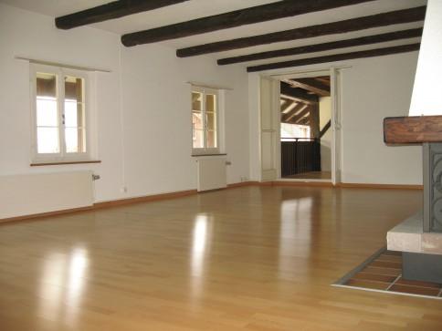 Zentral gelegene 4-Zimmer-Wohnung in historischem Bauernhaus