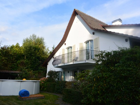 Zentrale und ruhige Villa mit Cachet