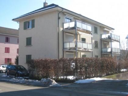 Westfassade mit Balkon