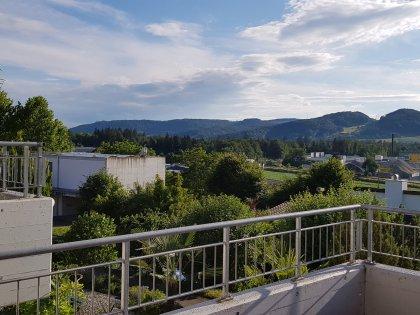 Aussicht Terrasse Wohnbereich