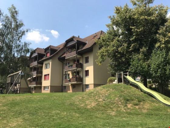 Aussenansicht Heckenweg 5 und 7 Schwarzenburg