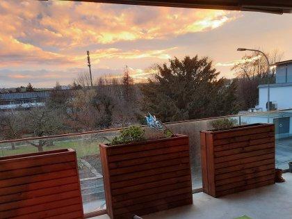 Terrasse avec vue dégagée sur la Thièle