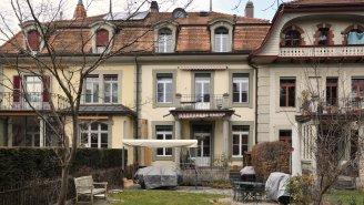 Der Garten in der Stadt Bern ... idyllisch, grosszügig ...