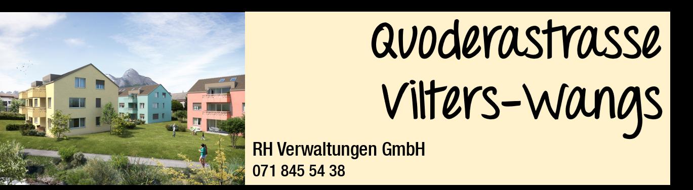 Quoderastrasse Vilters-Wangs