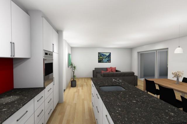 Nach Totalsanierung: Grosszügige 4.5 Zimmerwohnungen nahe Do 20680153