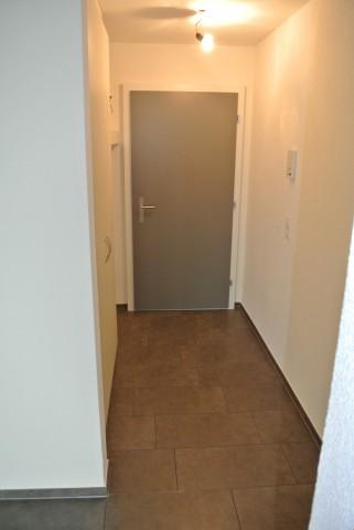 Eingang mit Einbauschrank