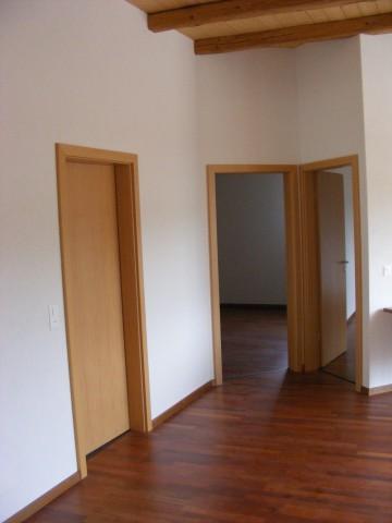 Verbindung Wohnzimmer übrige Räume