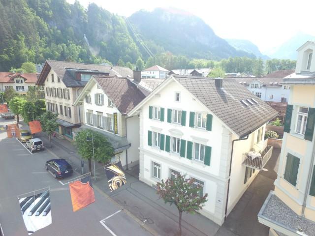 Chalet Alpbach, im Zentrum von Meiringen, in einer ruhigen Seitenstrasse.
