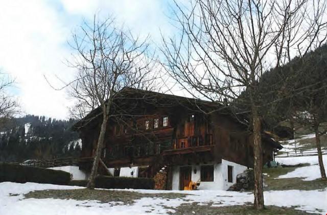 Chalet mit prächtiger Sicht auf das Bergpanorama des Saanenl 24050376