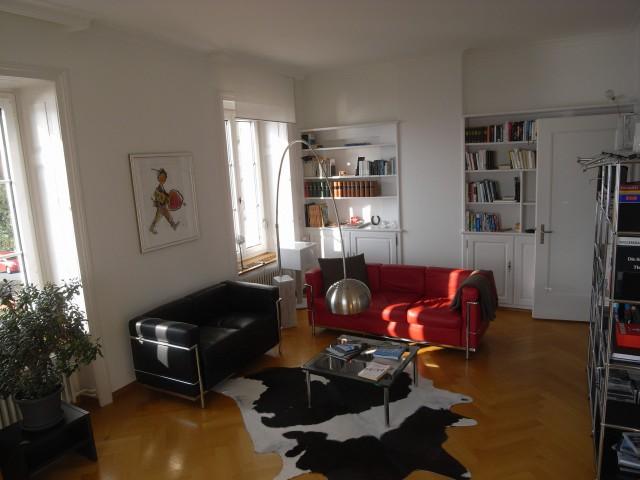 Schöne Altbauwohnung in 3 Familienhaus mit See- und Bergsich 22837631