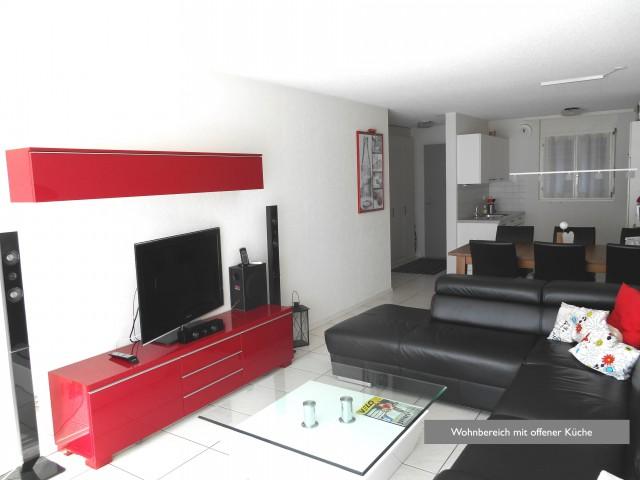 3,5 Zi-Wohnung mit Balkon + gr. Terrasse - im Dorf Tafers 32304360