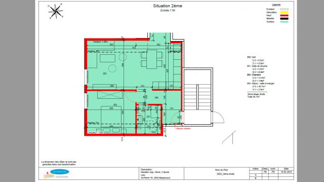 NEUF ! Bassecourt, bel appartement de 2.5 pièces au 2ème éta 25151831