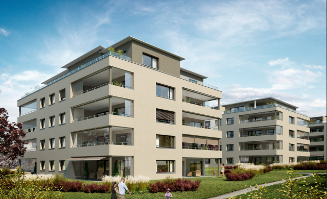 Top Ausbaustandart - Erstmiete grosser 4.5-Zi Wohnung plus B 19643375