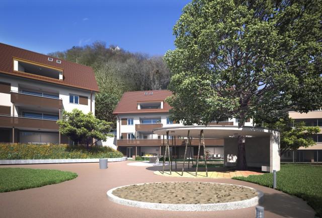 4.5 Zimmer-Wohnung mit Eigentumswohnungsstandard 27500622