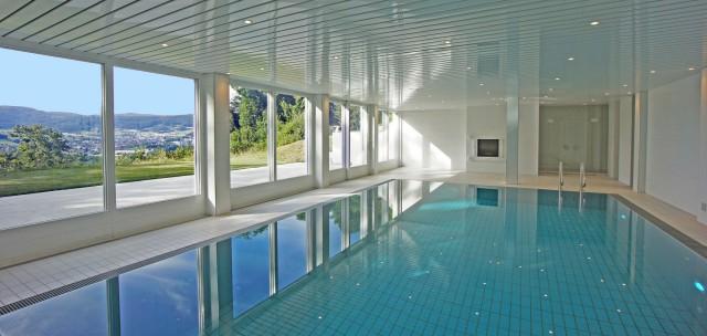 Anwesen mit Hallenbad,zentral zu Flughäfen,Städten,Zürich,Ba 22084658
