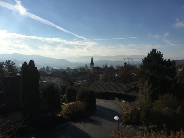 4.5 Zimmer-Wohnung an traumhafter Lage in Bolligen mit Alpen 27090316