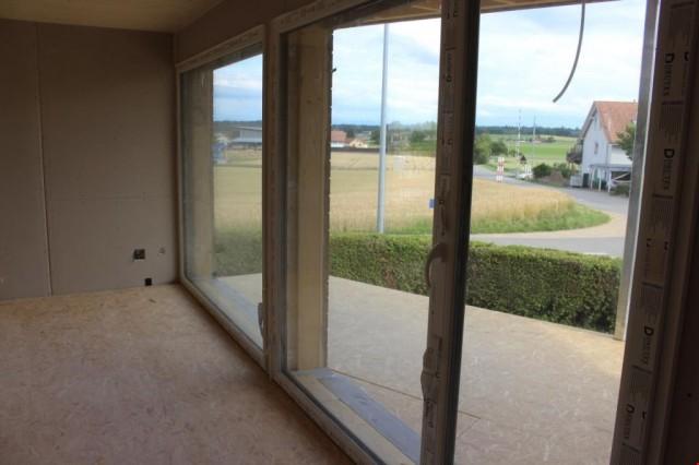 Aussicht aus Wohnzimmer