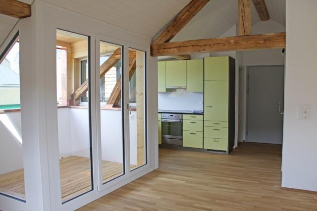 Moderne Dachwohnung im Dorfzentrum von Langnau 31859266