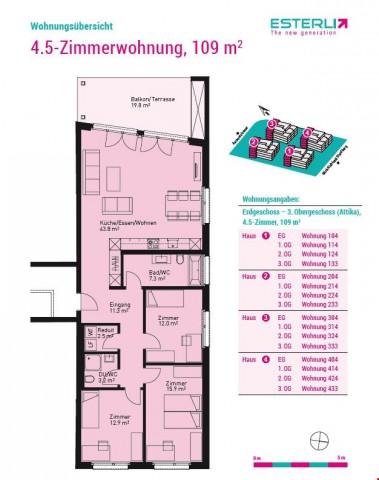 Schöne 4.5 Zimmer-Whg, 109 m2 27500613