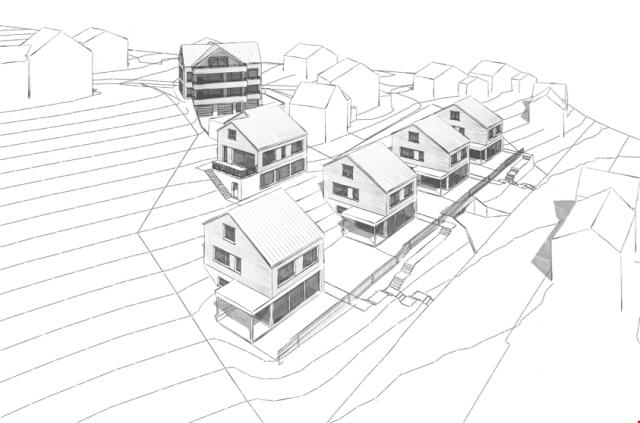 Neubau! Moderne Einfamilienhäuser an Südhanglage! 19982218